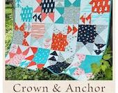 Crown Anchor quilt pattern from Antler Quilt Design
