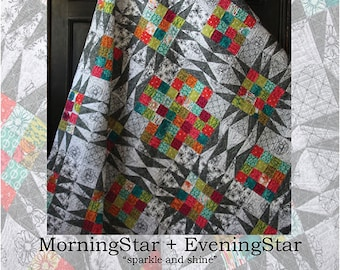 Morning Star + Evening Star quilt pattern from Beyond the Reef