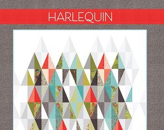Harlequin  pattern by Robin Pickens