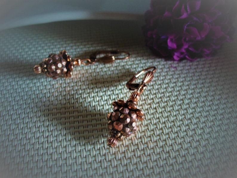 Mini earrings all coppery