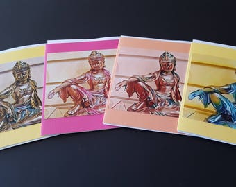 Quan Yin 4 Card Set
