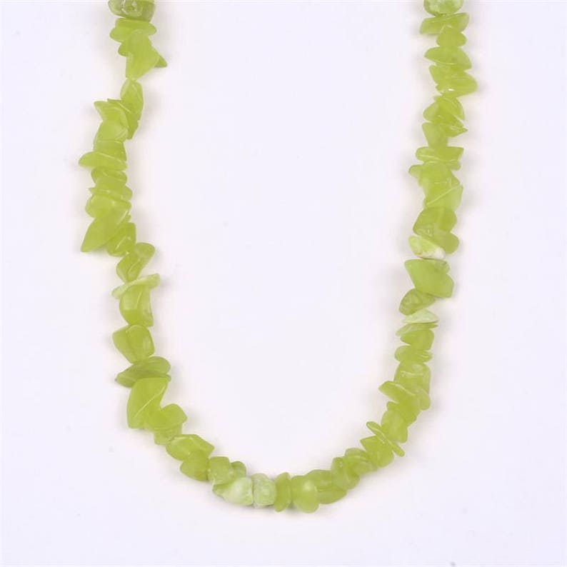 One Healerite Crystal Necklace Enhances Healing Work on Self And Others 30 Polished Nugget Necklace Certificate of Authenticity Included