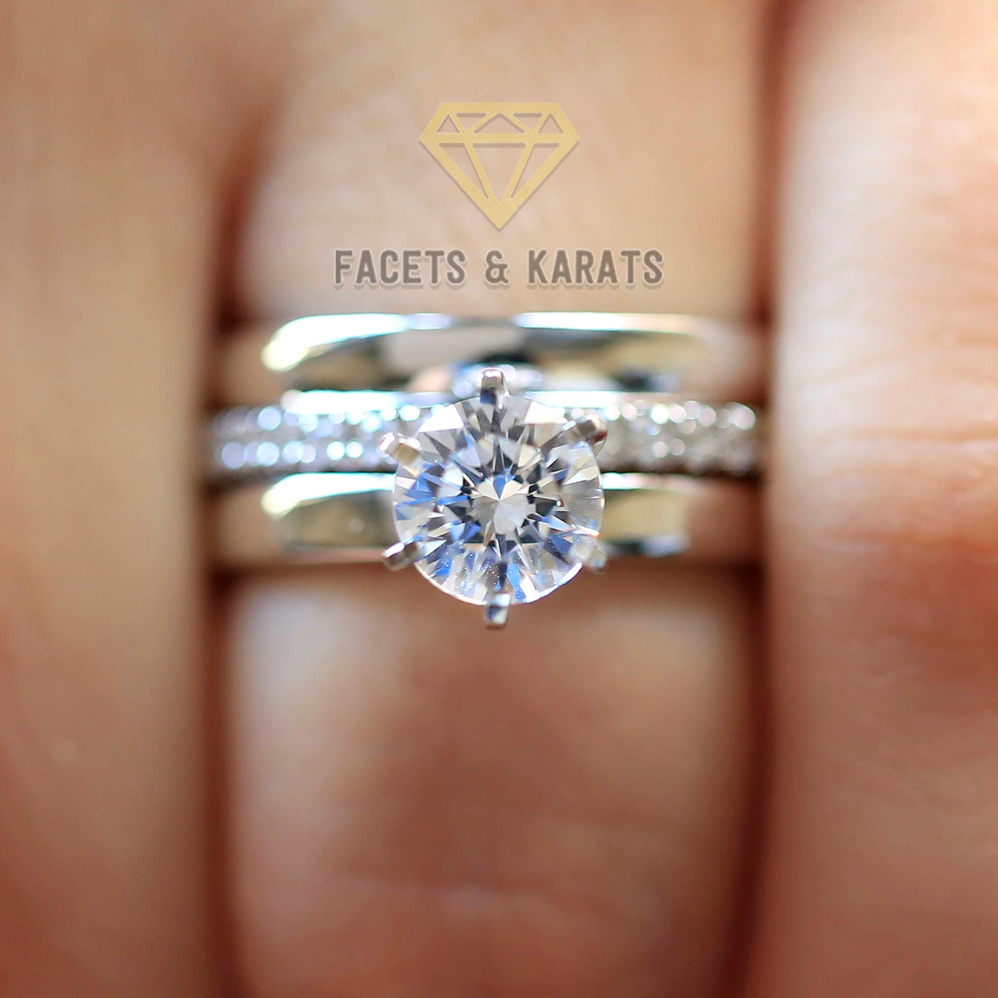 Engagement & Wedding 14k Solid Yellow Gold Solitaire Engagement Wedding Promise Ring 1.25 Ct Diamond Strong Packing Jewelry & Watches