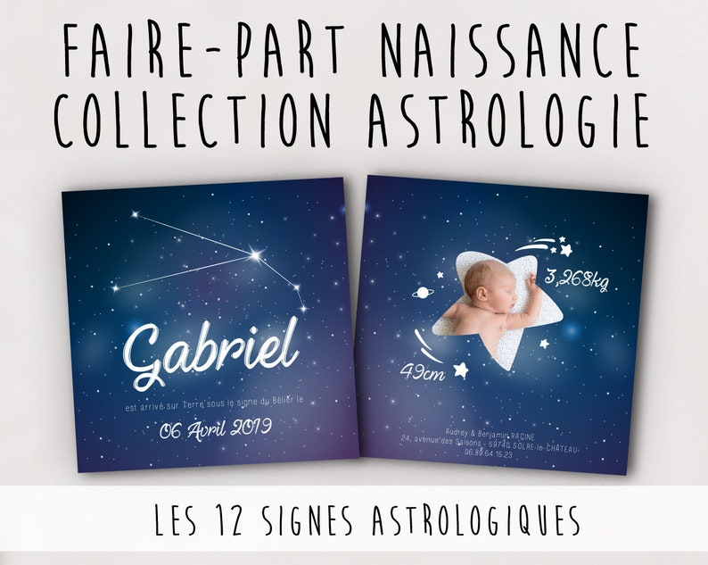 Announcement - birth - Astrology Collection