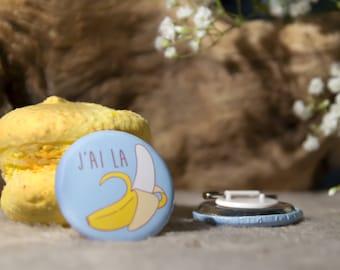 """Badge bananas """"Banana I"""""""