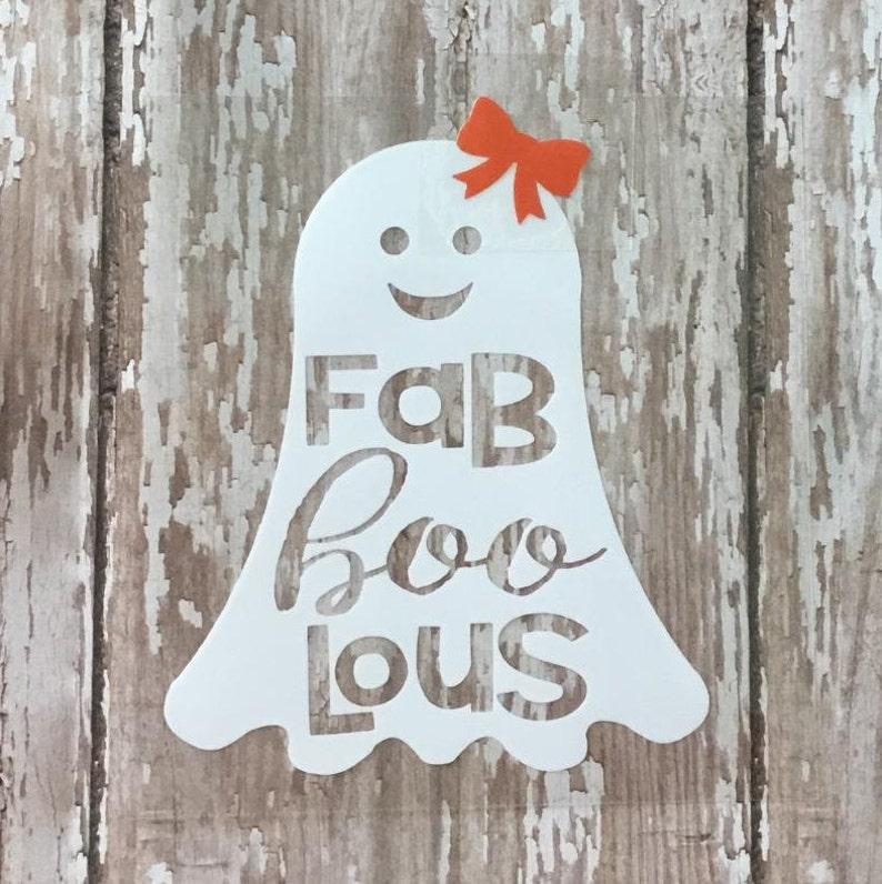"Women/'s Rhinestone T-Shirt  /"" Halloween Ghost Fab Boo lous /"""
