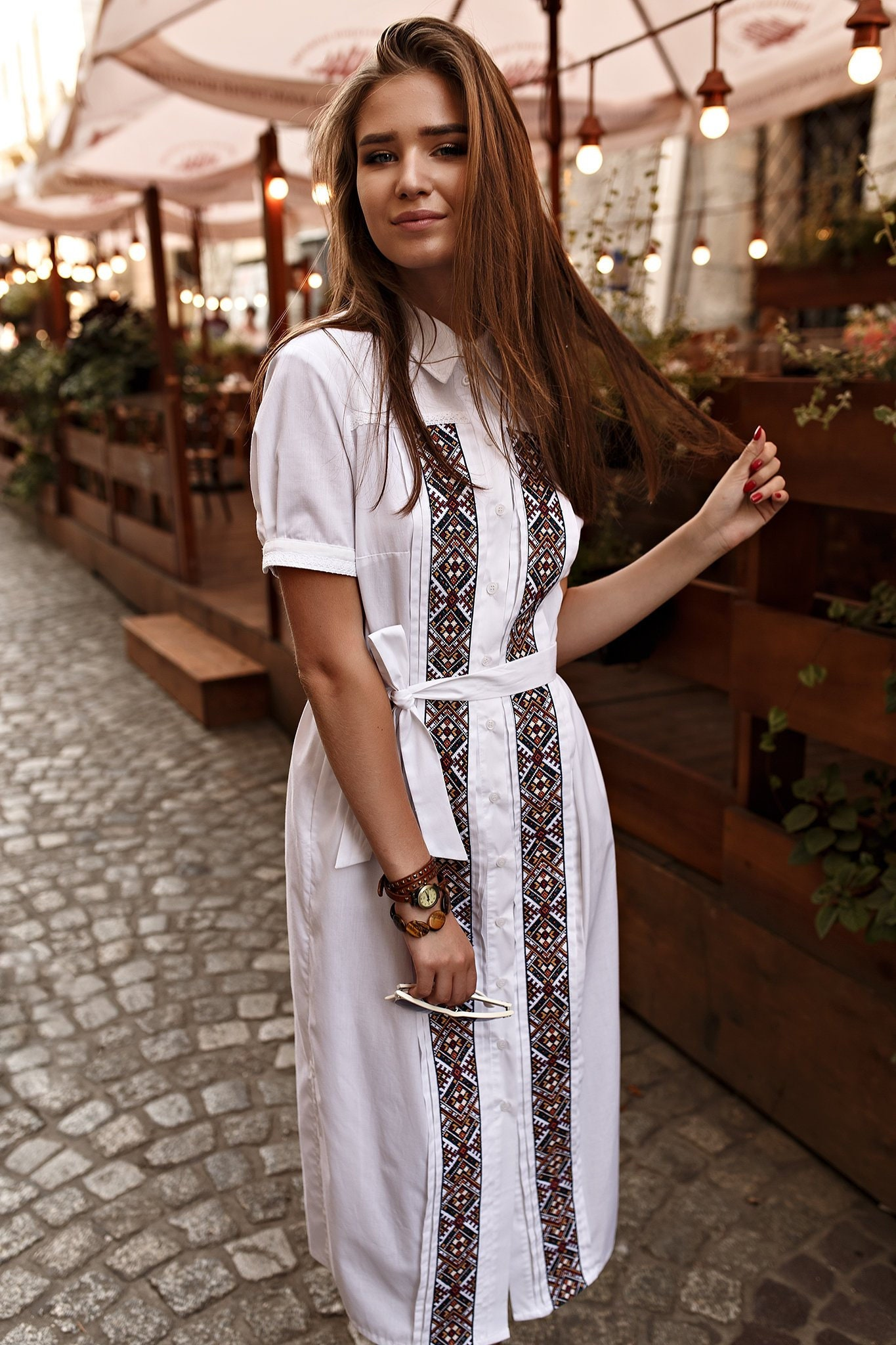 Details about  /Ukrainian Vyshyvanka Dress.Traditional Embroidered dress.Gift for Her Christmas