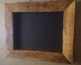 Rustic Reclaimed Chunky chalkboard