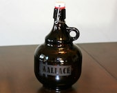 Personalized Beer Growler ~  Custom Growler ~ Flip Top Growler ~ Home Brew Growler ~ Beer Lover Gift ~ Groomsmen Gift ~ Gifts for Him ~ Beer