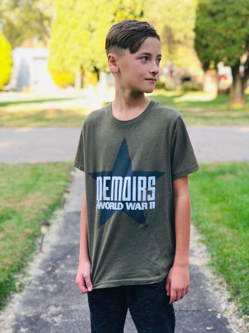 Memoirs Of WWII Youth T-Shirt image 0