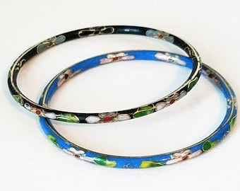 Cloisonne Bangle Bracelets