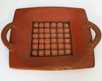 Schwab Pottery Serving Plate Tray