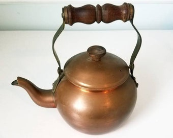 Tagus Copper Kettle Teapot from Portugal