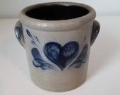 Rowe Pottery Utensil Crock