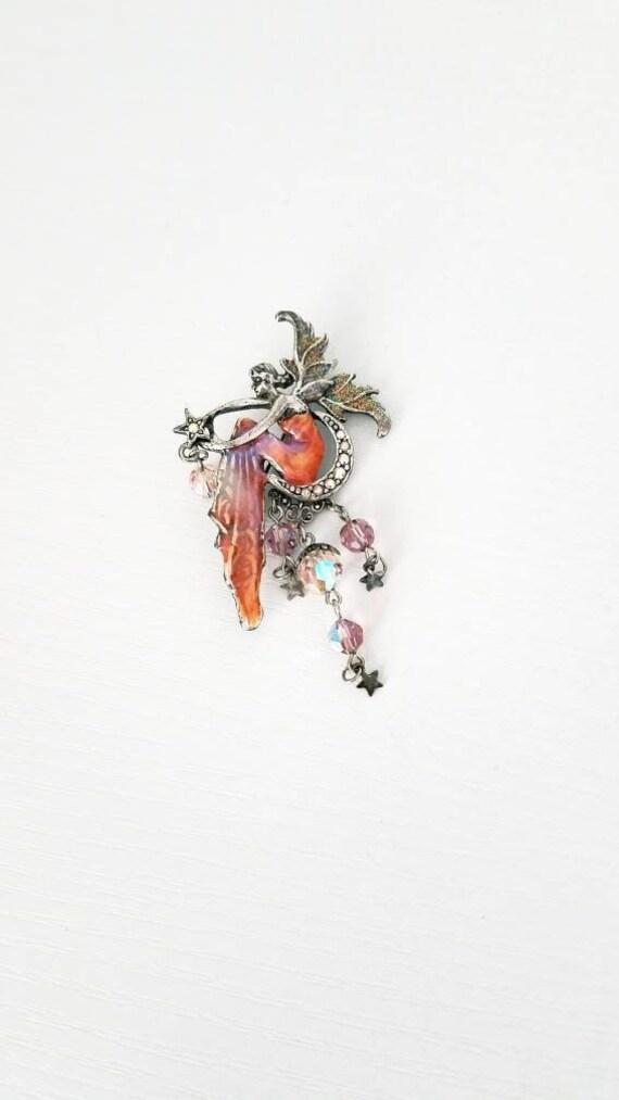 Kirk Folly Fairy Brooch Pin
