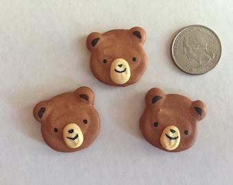 Bear,  royal icing, 12 pieces