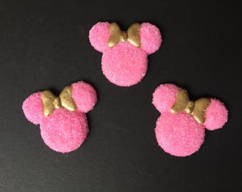 Minnie mouse, royal icing, 10 pieces