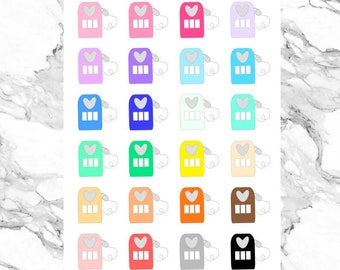 Gas Pumps - Functional Planner Stickers