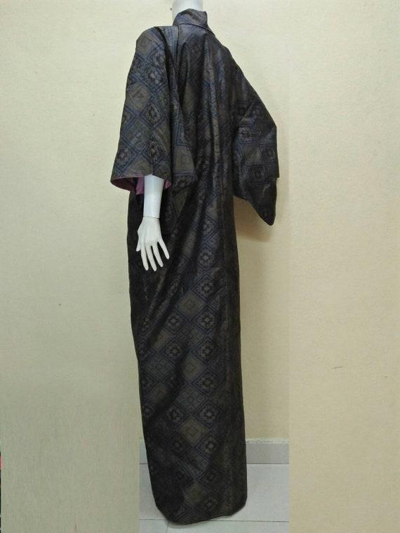 JAPANESE TRADITIONAL KIMONO Dress Yukata Vintage … - image 5