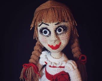 Creepy Doll Crochet Pattern