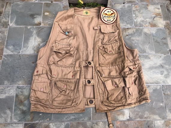 Ideal Outdoors, Fishing Vest, Vintage Hunting from