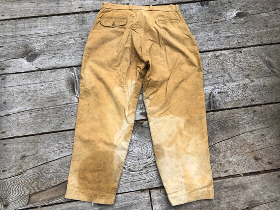 Duxbak, Canvas Pants, Vintage Hunting from Afterho