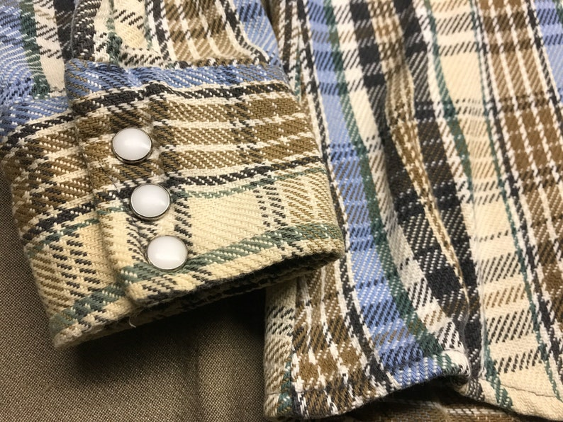 Five Brothers from Afterhoursdropbox on Etsy Harvest Colors Vintage Flannel