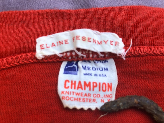 Vintage Champion, 1950s Nightie, Made in USA from