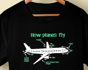 48bb52bb Aerospace Engineer Gift T-Shirt For Aerospace Engineer, Mechanical  Engineering Gift, Pilot Gift, Aerospace Gift For Him