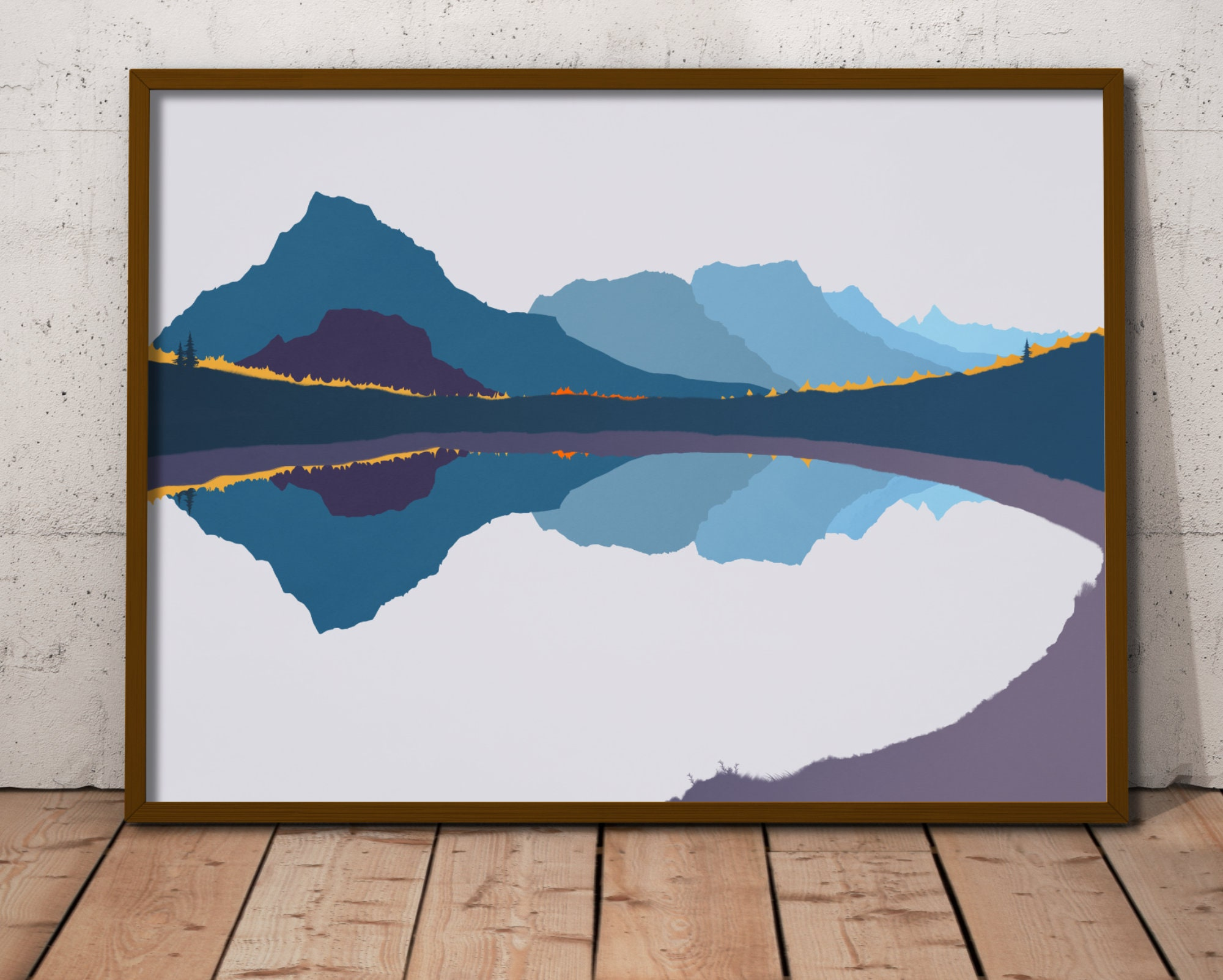 Picture of: Sierra Nevada Mountain Art Print Mountain Print Extra Large Etsy