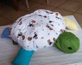 blanket / turtle pillow