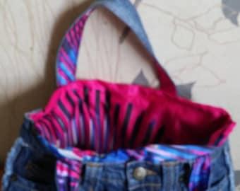 bag in denim for girl