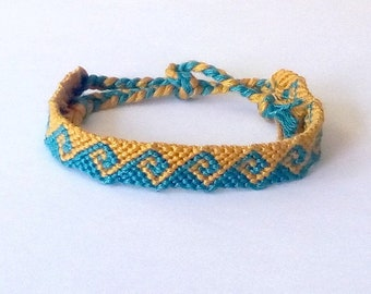 Friendship bracelets handmade in france by brasilda on etsy