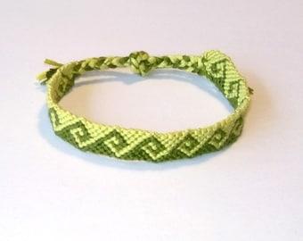 6bda80ee18d92 Bracelet Brazilian green geometric pattern wave bracelet men women hippie  surf Brasilda