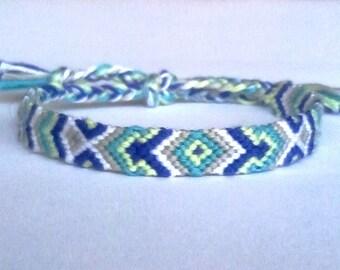 b4d16b00ccde6 Friendship bracelets handmade in France by Brasilda on Etsy