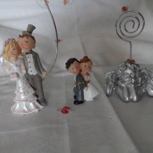 married couple wedding party door names 6 wooden clothespins
