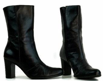 3b069fd96783e Vintage black boots