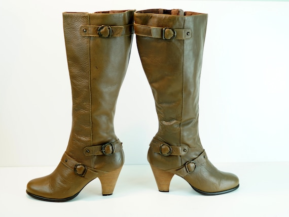 Vintage tall boots DUO boots Eu 40 Real