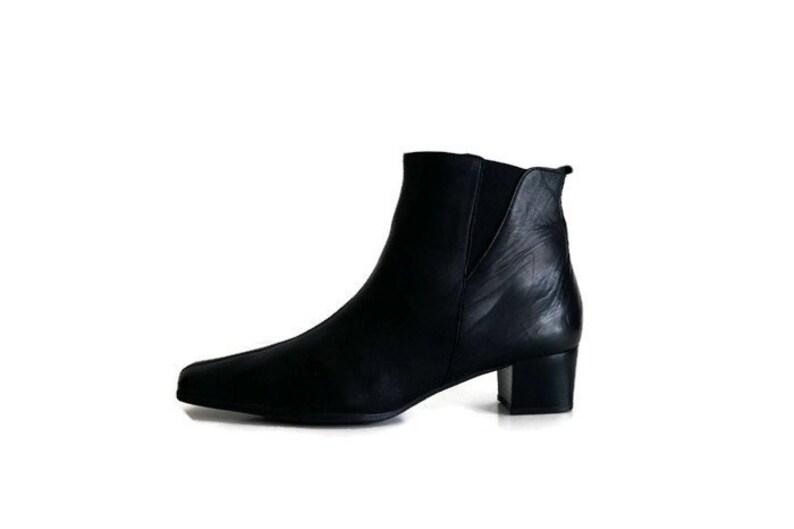 2cfd944e182b ZANON   ZAGO Boots Eu42 UK9 US 115 Womens Ankle Boots Black
