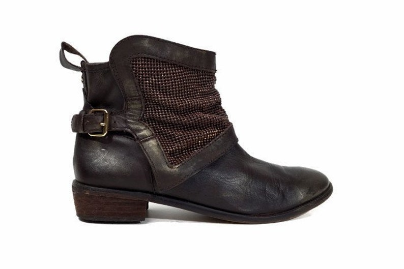 d191118a4cb4 Ankle boots Eu 41 US 10.5 UK 8 size Brown real leather womens