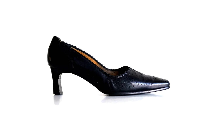 b5cb9ee105 VAN DAL Shoes Eu 37 Uk 4 US 65 Black genuine leather womens | Etsy