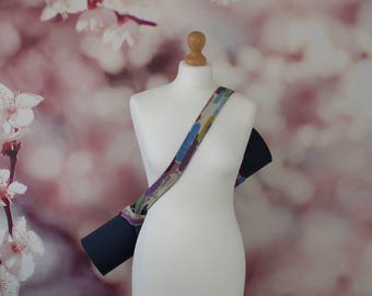 Yoga Mat Strap Sling Carrier Accessories Multicoloured Harlequin