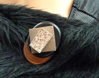 Broche aimantée, broche aimant magnétique, accessoire pour foulard, Hijab, vêtements, sac et déco DANEÏS