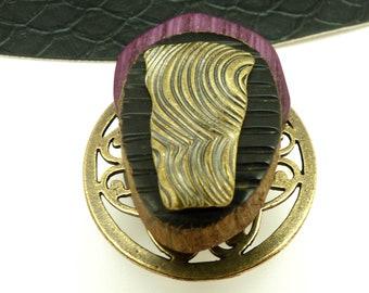 Broche aimantée broche aimant magnétique pour foulard, Hijab, vêtements, sac et déco PRINCIA