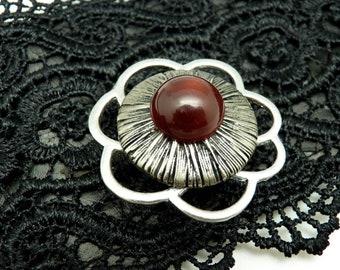Broche aimantée broche aimant magnétique pour foulard, Hijab, vêtements, sac et déco FLEUR dernière pièce