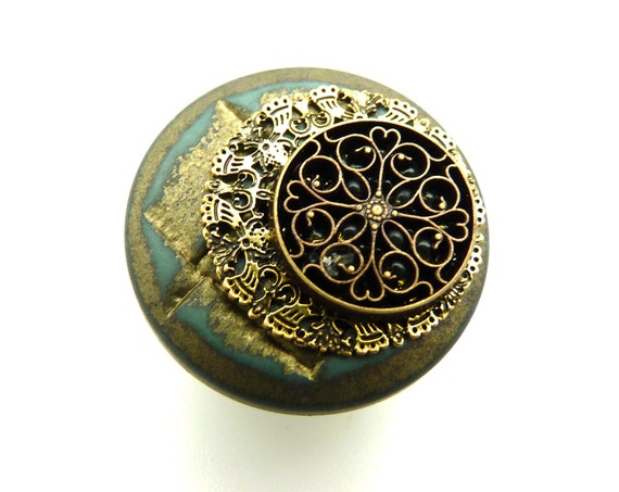 Small magnetized brooch, magnetic magnet brooch, scarf accessory, Hijab, clothes, bag and ANTOINETTE decoration