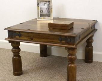 Indian jali 60x60cm lamp table
