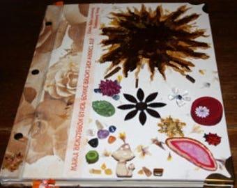 "Artist's book ""Sun breaks up the sky"""