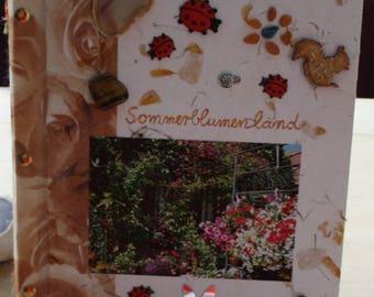 Heike of Laufenburg artist book summer flower LAND