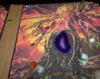 Oracle vibe - a mystical book for young people as children's art book